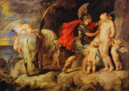 Resultado de imagen de Andrómeda, hija de Cefeo, rey etíope de Yope, y de Casiopea