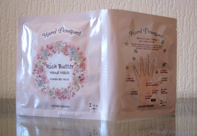"Etude House Rich Butter Hand Mask ""Hand Bouquet"""