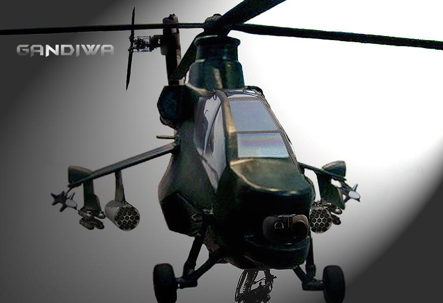 Helikopter Tempur Gandiwa