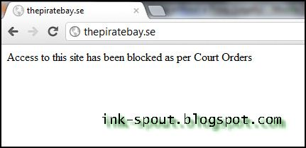 How to access bannedblocked torrent and video sites in india this banning and blocking thing came into picture after a tamilnadu court issued an order to prevent copyright infringement and piracy ccuart Images