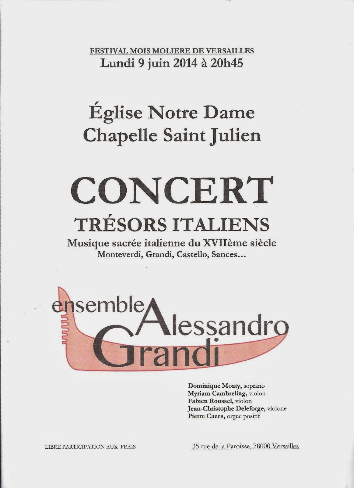 Festival Le mois de Molière à Versailles
