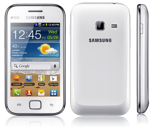samsung galaxy ace duos android phone
