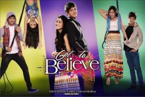 Kathryn Bernardo and Daniel Padilla in Got to Believe. Premieres August 26 on ABS-CBN Primetime Bida