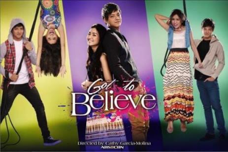 Kathryn Bernardo and Daniel Padilla in Got to Believe. Premieres August 26 on ABS-CBN Primetime Bida