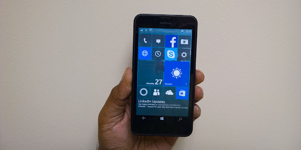 Windows 10 Mobile Insider Preview build 10136