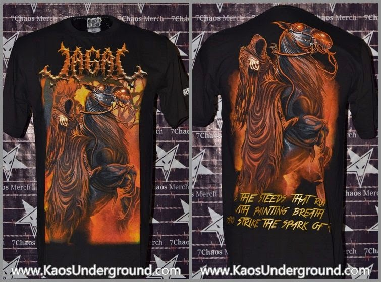 Kaos Band Jagal Steeds kaosunderground.com sevenchaos merch broken13