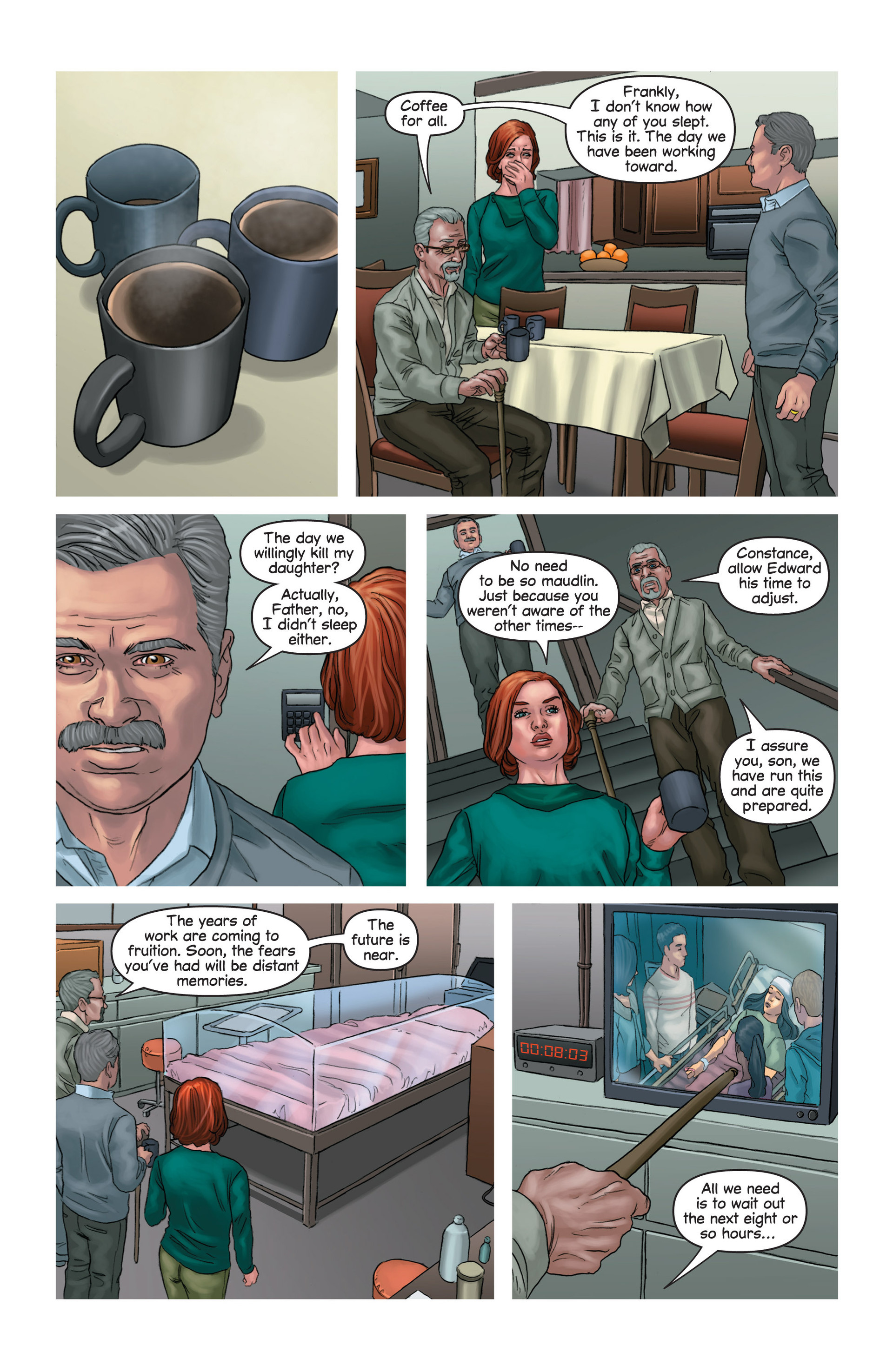 Read online Mind The Gap comic -  Issue #14 - 14