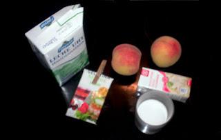 ingredientes para la panna cotta
