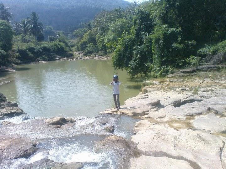 Indahnya Sungai Bung Pao, Artis Tak di Kenal Asal Sana Tengah