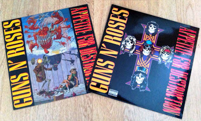 Guns N' Roses - Appetite for Destruction (1987) Portadas