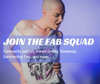 Community Support, Private Events, Giveaways, Suvivorship Tips, and more