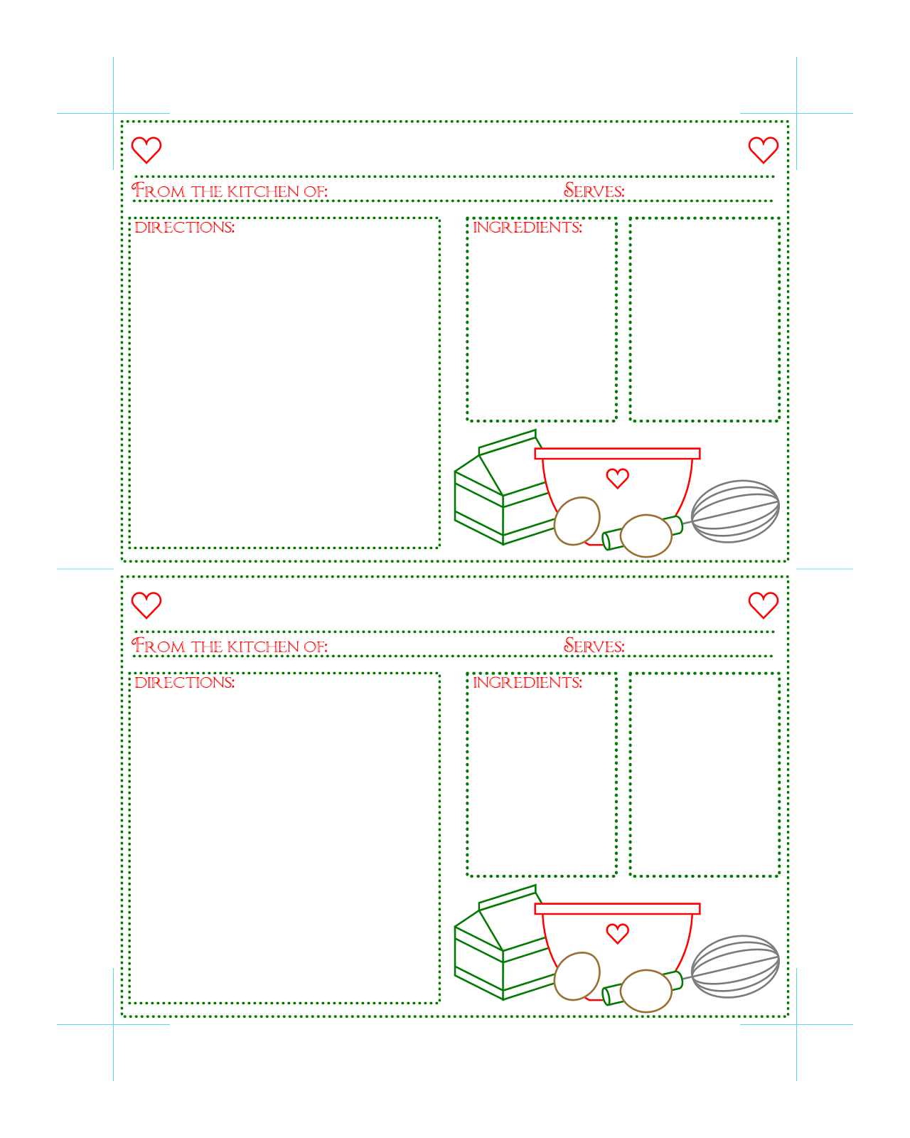how to make a printable message larger