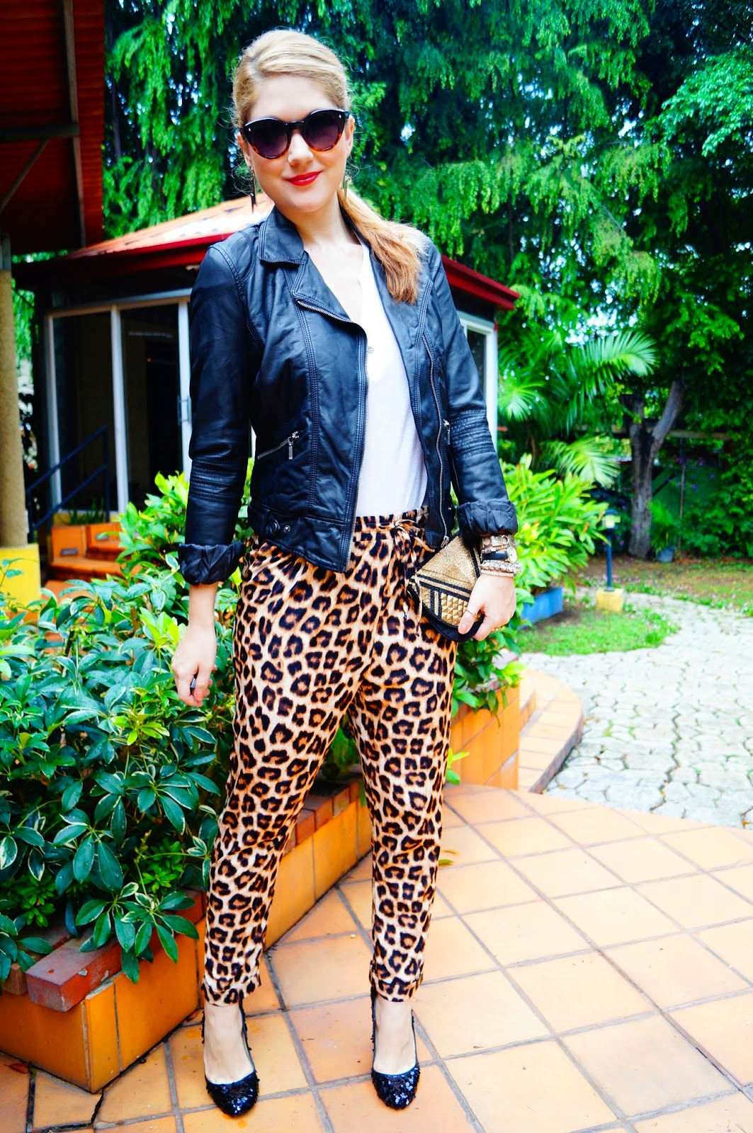 Leopard Pants Outfit