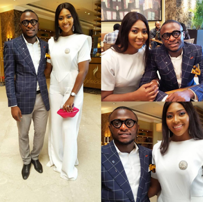Lilian Esoro and Husband Ubi Franklin wed at Ikoyi Registry 9