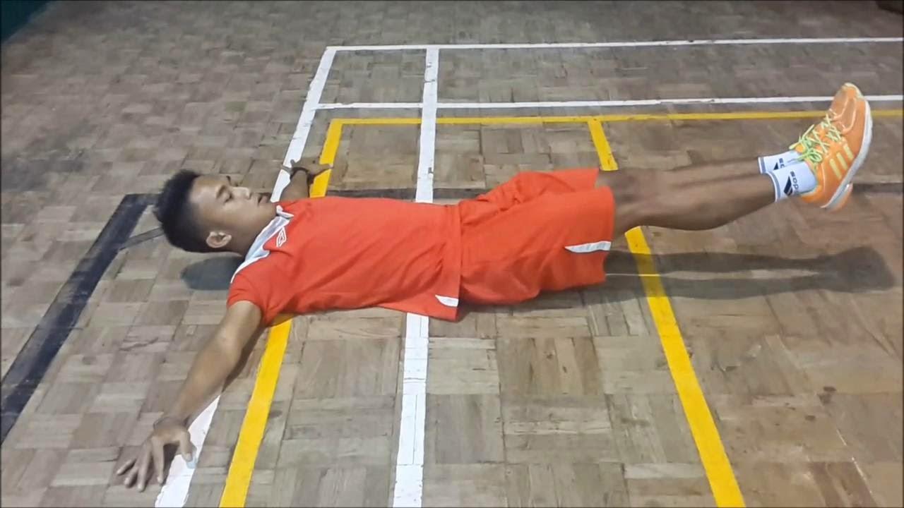 Leg Lower and Reverse Crunch
