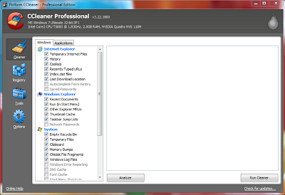 CCleaner Professional Edition v3.22.1800