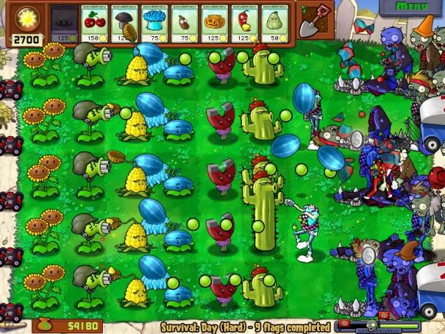 plants vs zombies pc free