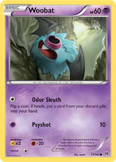 Woobat BREAKthrough Pokemon Card