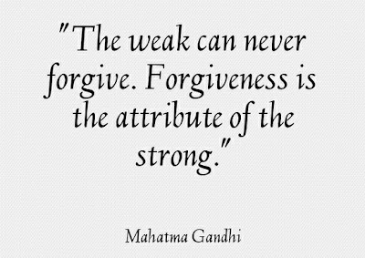 Mahatma Gandi, Quote, Forgiveness, life