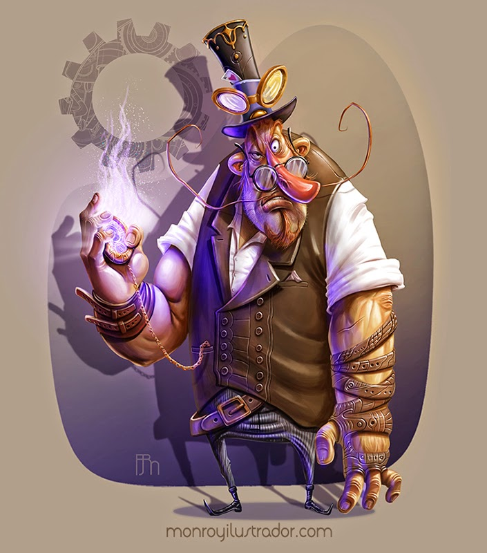 Cartoon STEAMPUNK (Final)