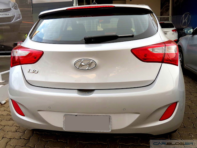 Novo Hyundai i30 2016 - prata