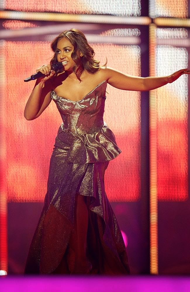 jessica mauboy tony marticevski eurovision everyday like this australian fashion