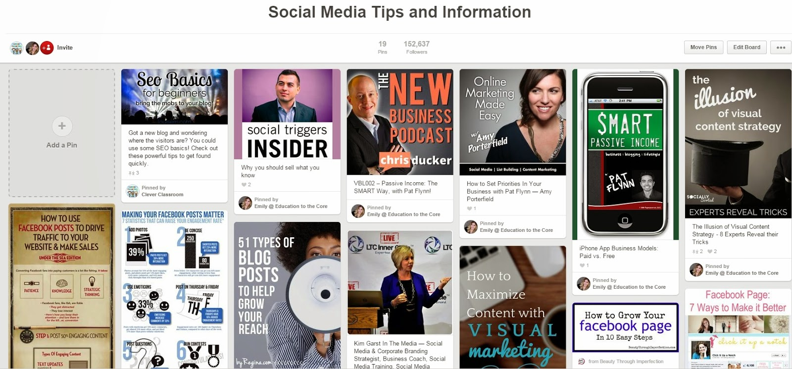 Social Media Tips and Information