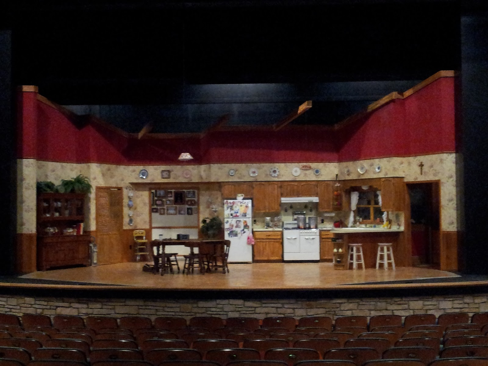Theatre Projects Quot Miracle Quot Set Dressing