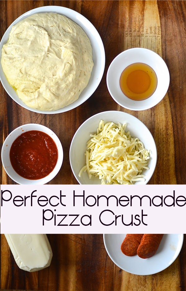 FUN RECIPE WORLD : How To Make The Perfect Homemade Pizza Crust!