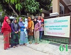 Bank Sampah Melati Bersih Pamulang Villa Pondok Petir Bojongsari Depok