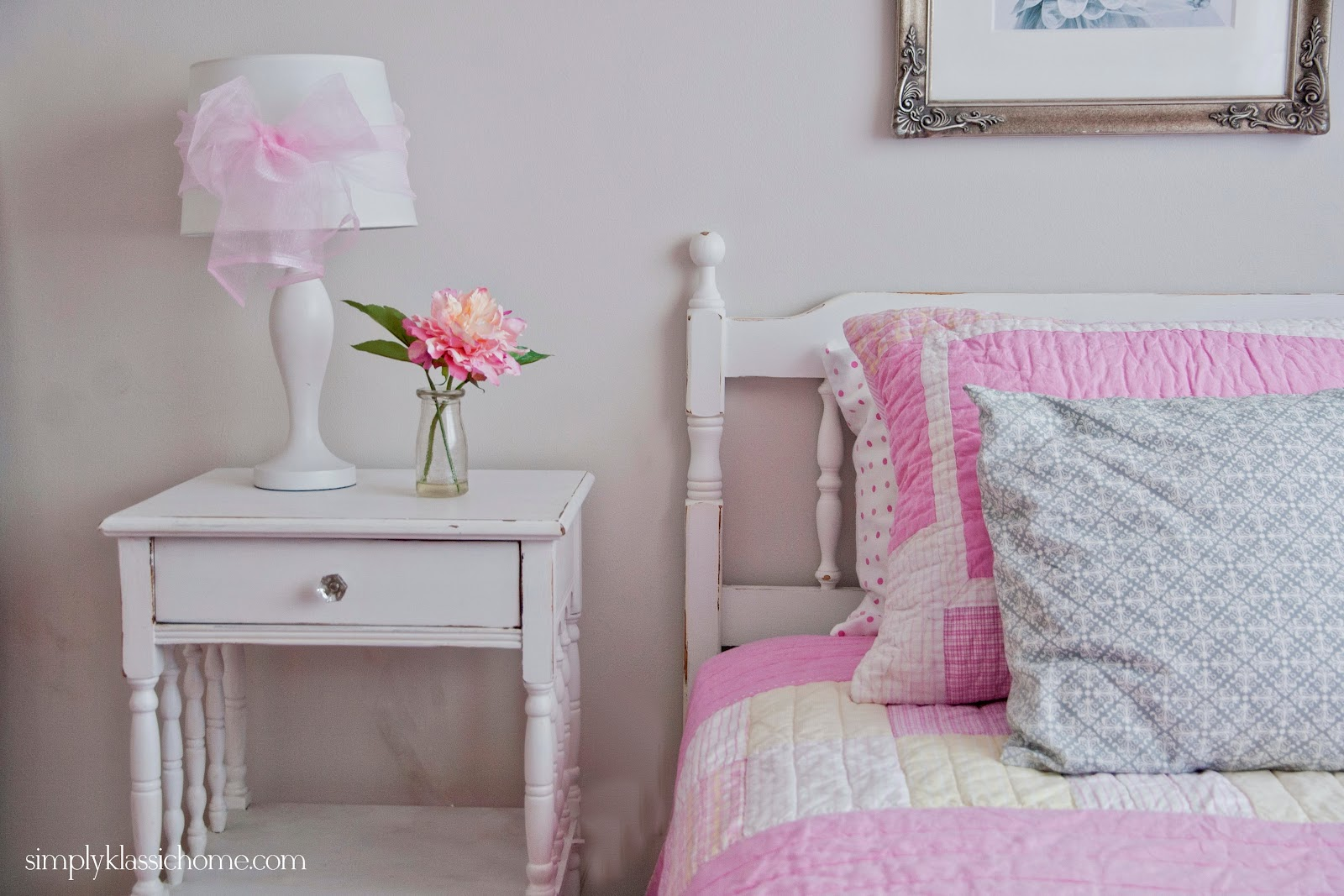 Little girl 39 s princess room makeover reveal yellow bliss for Little princess room
