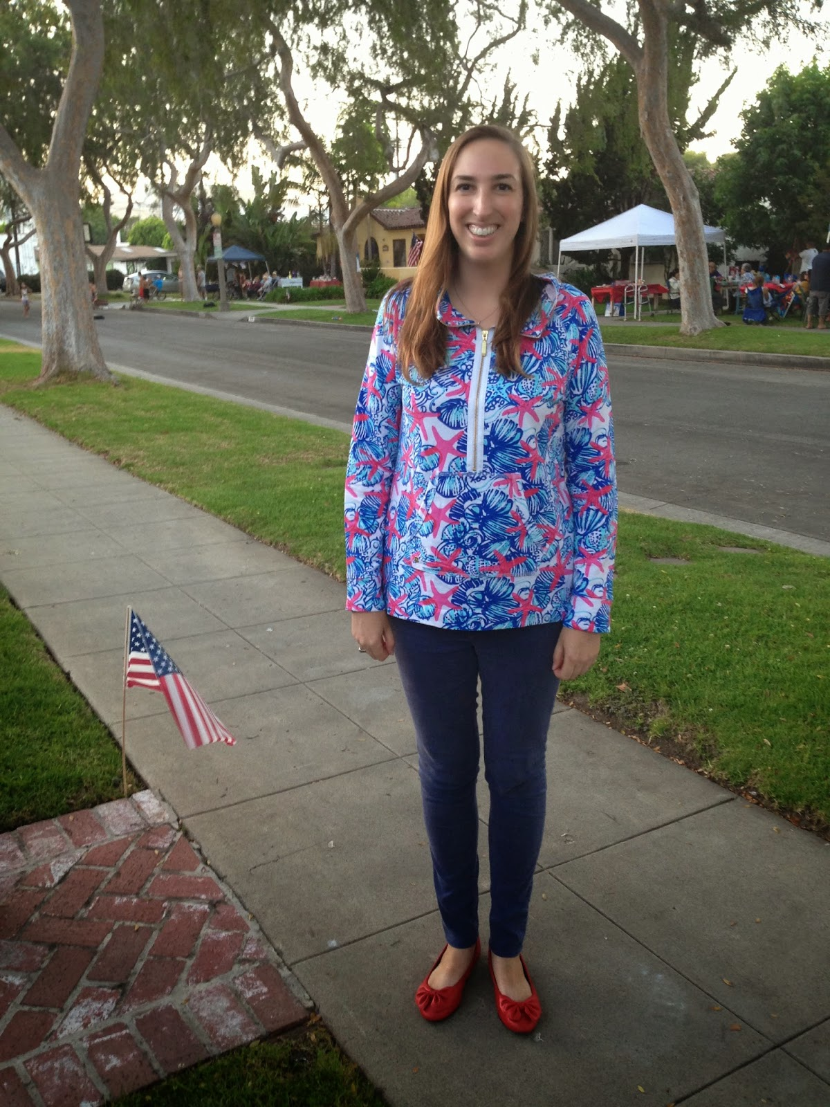 Nautical by Nature | nautical 4th of July outfit