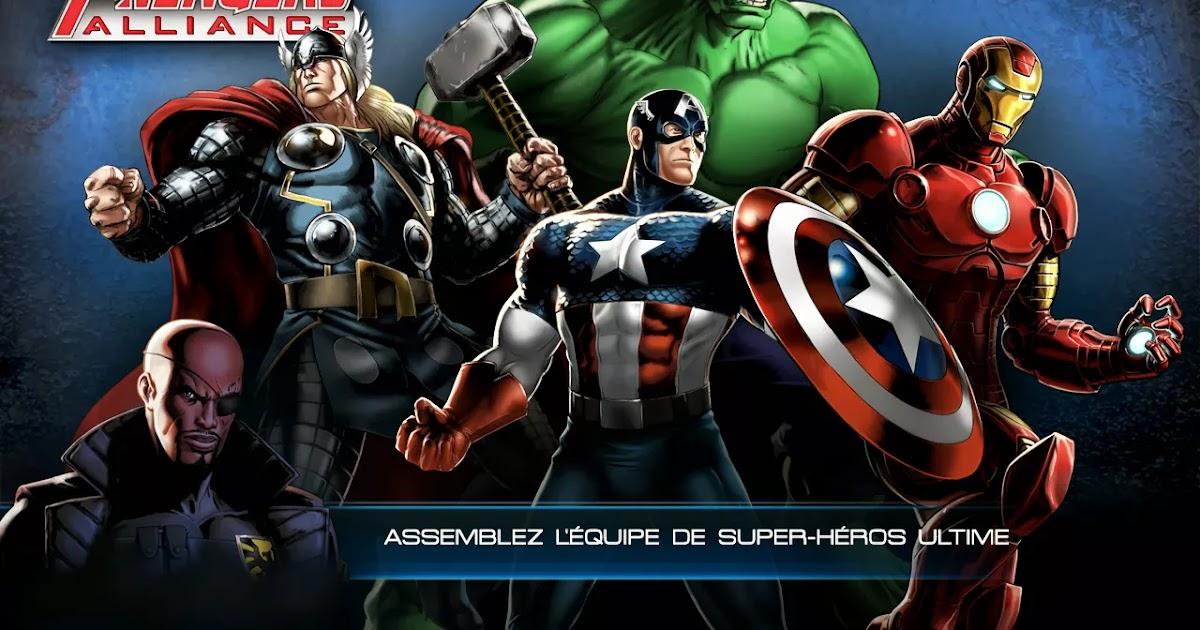T l charger avengers alliance gratuitement sur android et - Telecharger avengers ...