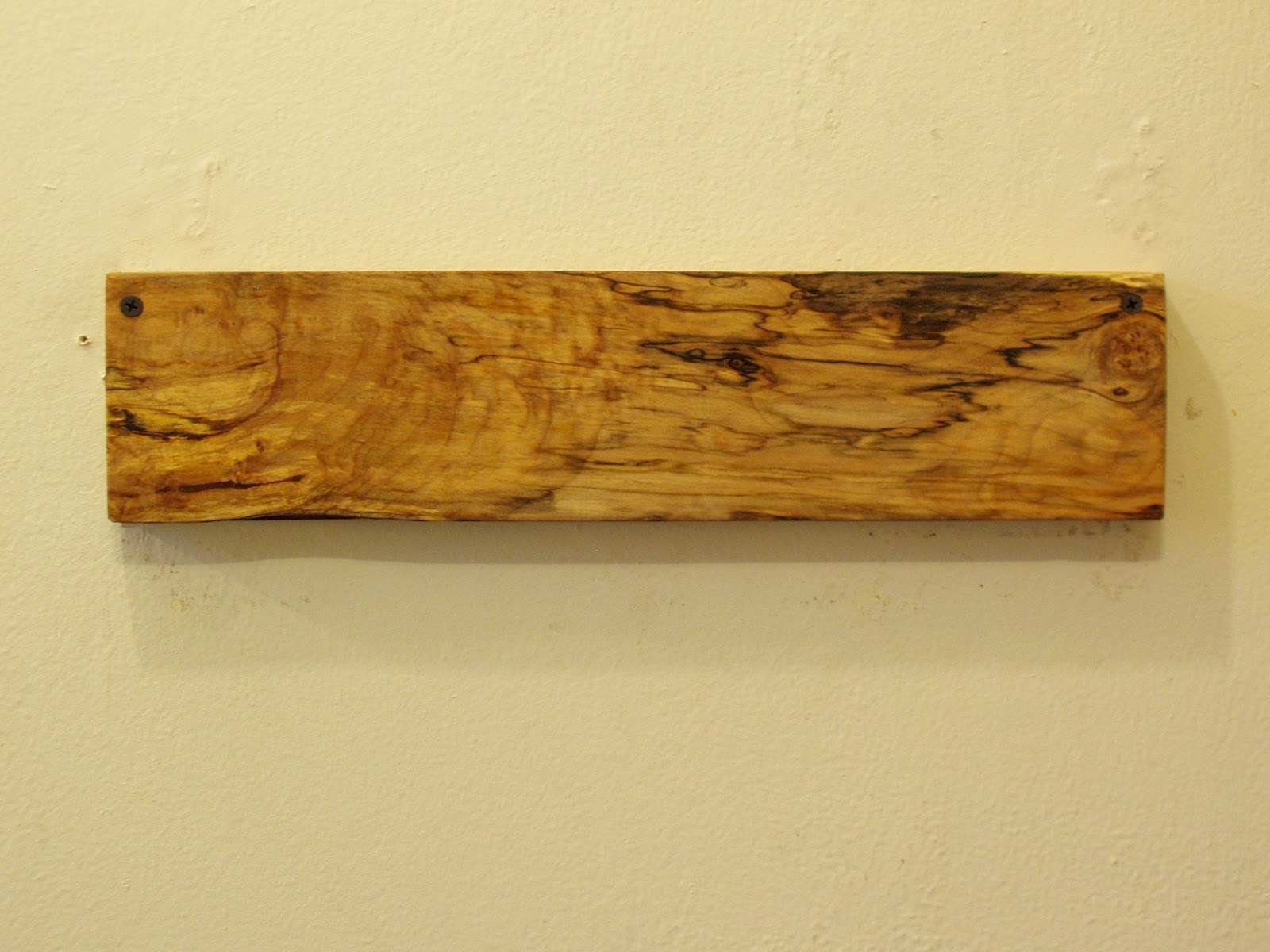 Driftedge Woodworking New Magnetic Knife Racks In Spalted