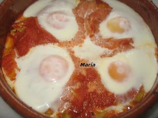 Cazuela de tomate