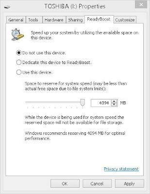Trik Mempercepat komputer Hanya Dengan Flashdisk