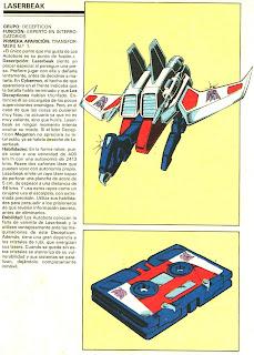 Laserbeak (ficha transformers)