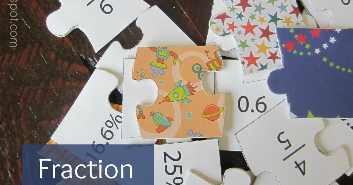 Relentlessly Fun Deceptively Educational Fraction