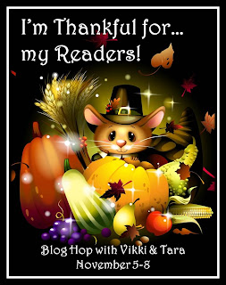 Thankful for Readers Bloghop