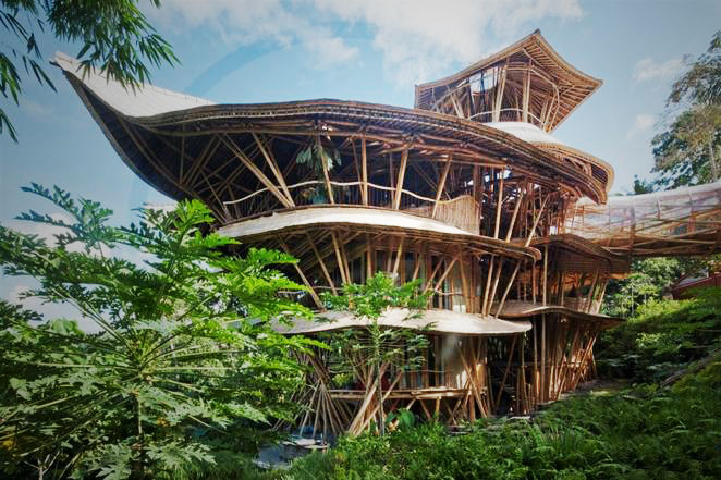 Meet The Woman Building Stunning Sustainable Homes From Bamboo