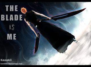 Ichigo Kurosaki New Zanpakuto Anime Dual Sword Bleach HD Wallpaper Desktop PC Background