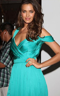 Irina Shayk Spicy model spotted at Le Blanc Spa Resort Lovely Leggy Gown