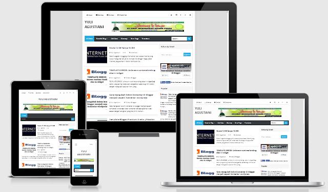 Cara mengecek template blog responsive atau belum
