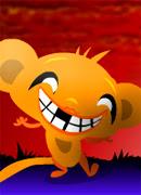 Весёлые обезьянки - Онлайн игра для девочек