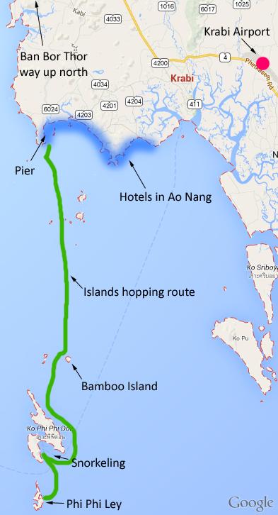 Singapore to Krabi Travel Guide