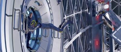 Ender's Game Gravity Room Scene