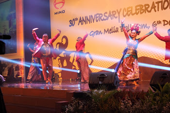 Ramainya perayaan 30th Hino di Indonesia