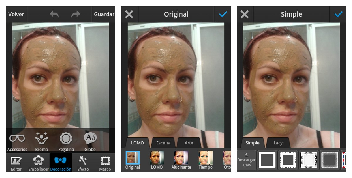 Blog de Belleza: Tutorial: Apps para Android de edición de foto I