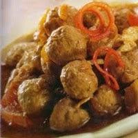 Resep Daging Bola Bola Masak Macaroni, Mantap Rasanya