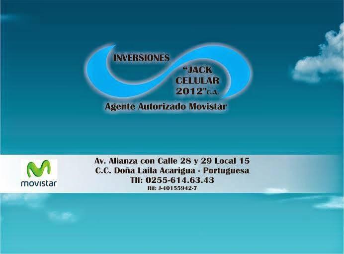 Publicidad Inversiones Jack celular